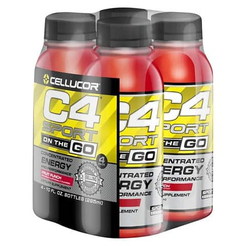 Cellucor C4 Sport On The Go 4-Count