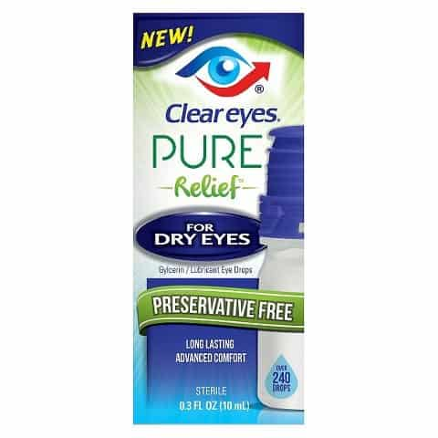 Clear Eyes Pure Relief Product Printable Coupon