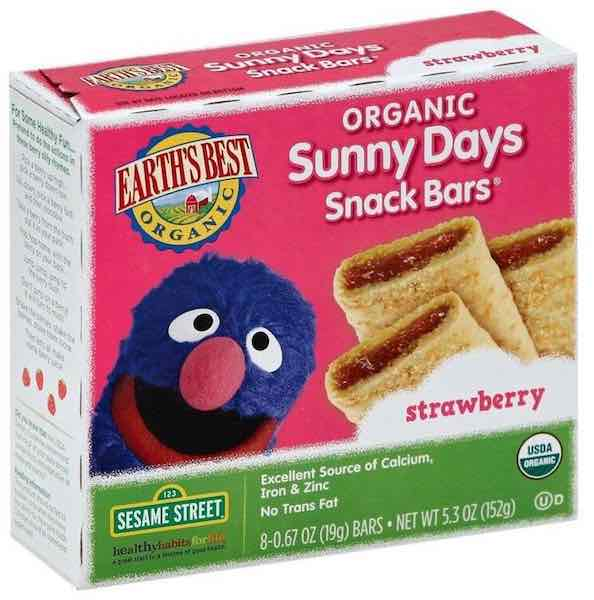 Earth's Best Organic Snack Bars On Sale, Only $2 49 at
