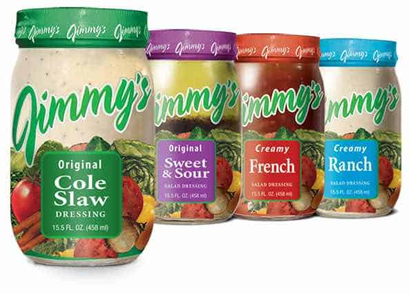 Jimmy's Salad Dressings Printable Coupon