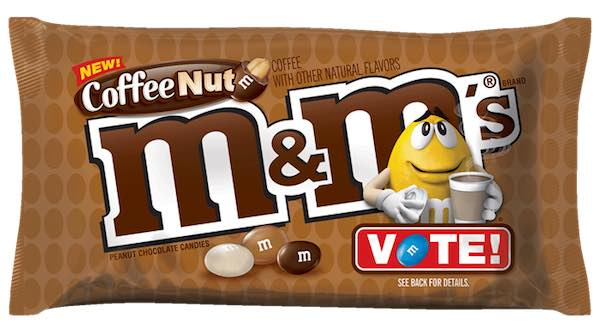M&M's Coffee Nut Chocolate Candy Printable Coupon