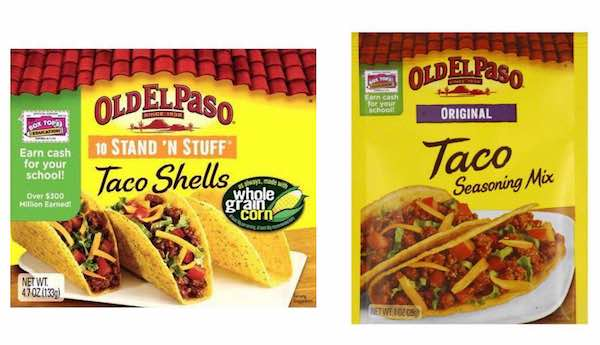 Old El Paso Products Printable Coupon
