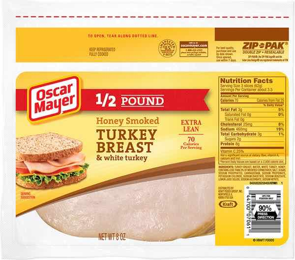 Oscar Mayer Lunch Meat In Zip-Pak Packaging Printable Coupon