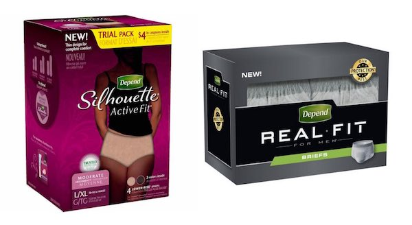 Depend Products Printable Coupon