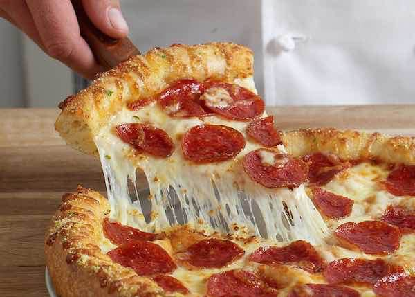 picture about Printable Dominos Coupons identified as No Course! Substantial 3-Topping Pizzas Basically $7.99 At Dominos