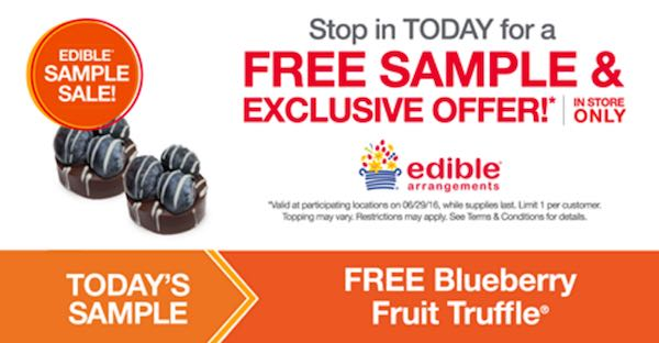 Edible Arrangements Free Sample Printable Coupon