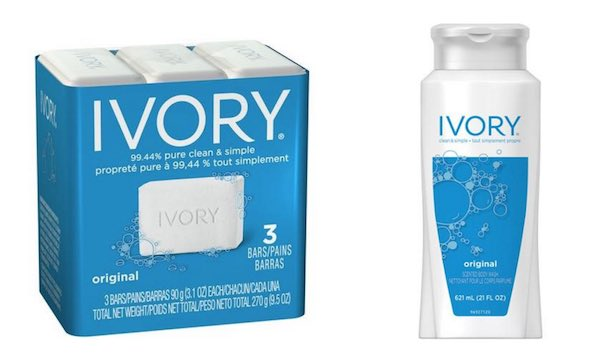 Ivory Soap Products Printable Coupon