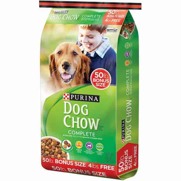 Purina Dog Chow Complete Adult brand Dog food
