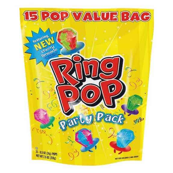 Ring Pop Party Pack Printable Coupon