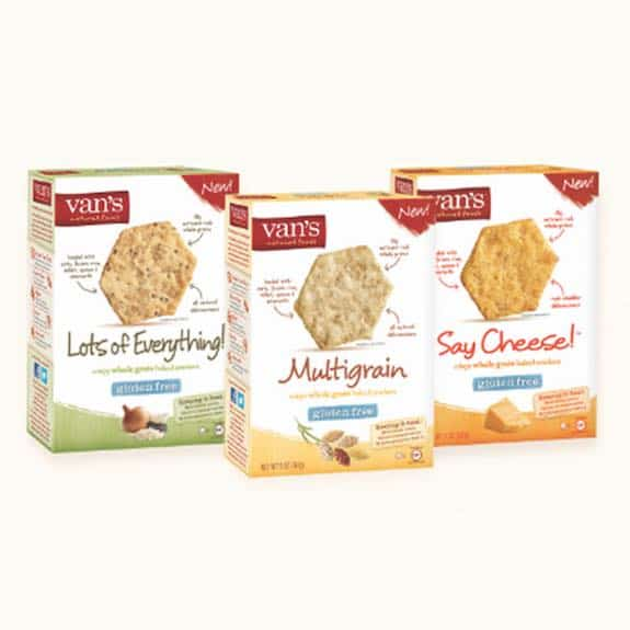 Van's Gluten Free Crackers Printable Coupon