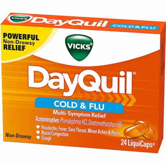 Vicks DayQuil Product Printable Coupon