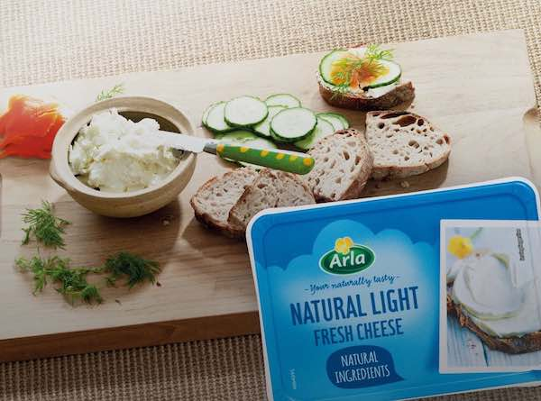Arla Cream Cheese Product Printable Coupon