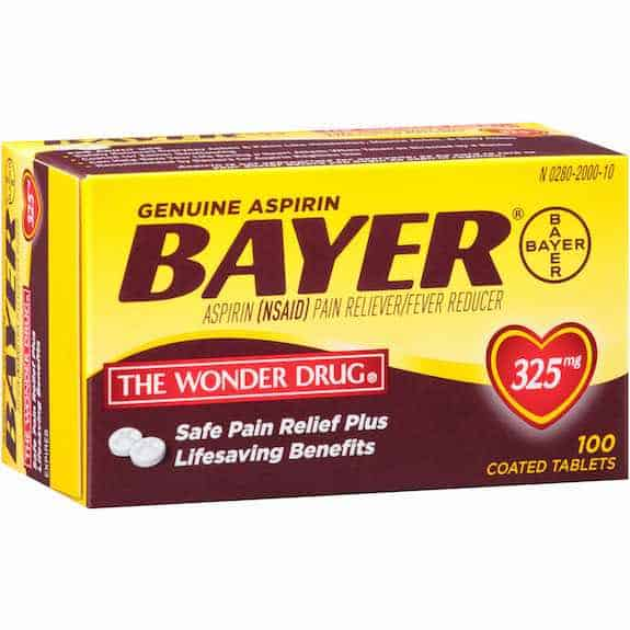 Bayer Aspirin 100ct Printable Coupon