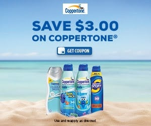 Coppertone Sponsored Printable Coupon