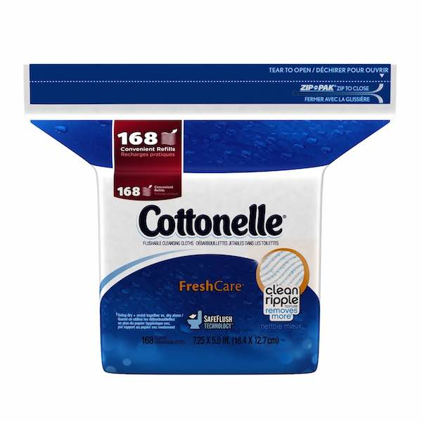 Cottonelle Fresh Wipes 168ct