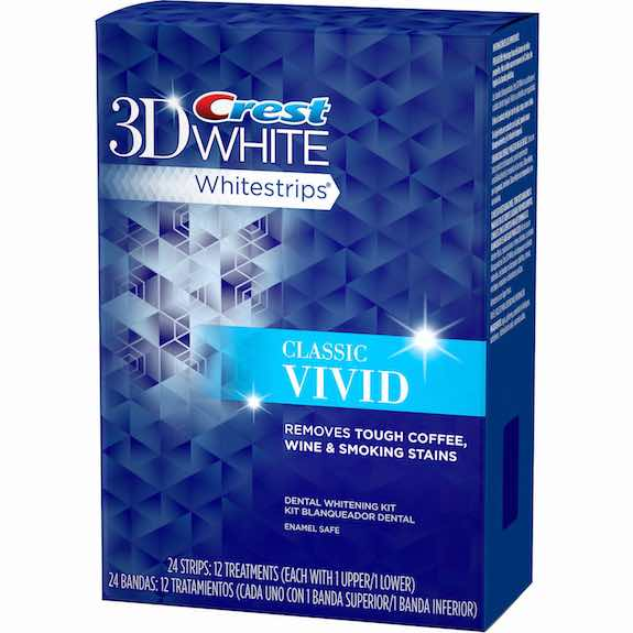 Crest 3D White Classic Vivid Whitestrips Printable Coupon