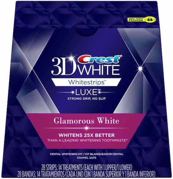 Crest 3D White Glamorous Whitestrips 14ct Printable Coupon