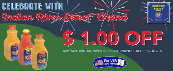 Indian River Select Printable Coupon