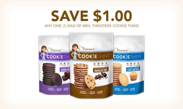 Mrs. Thinster Cookies Printable Coupon