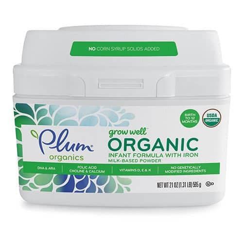 Plum Organics Grow Well Infant Formula Printable Coupon