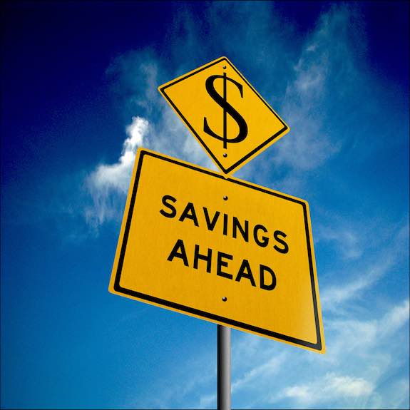 Savings Ahead Money Image