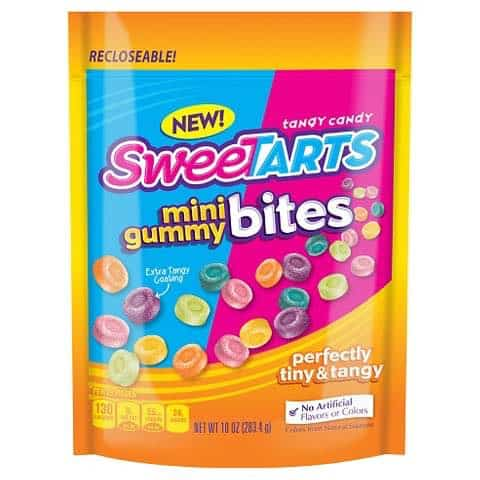 SweeTarts Mini Gummy Bites Bag 10oz Printable Coupon