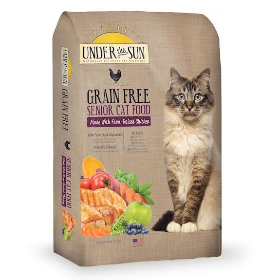 Under the Sun Grain Free Senior Cat Food Printable Coupon