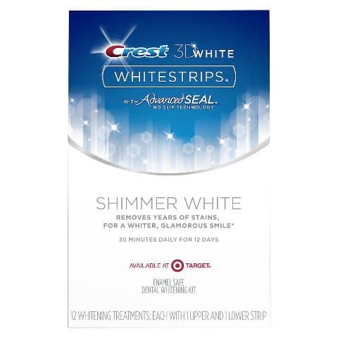 picture relating to Crest White Strips Coupon Printable named Printable Discount coupons and Bargains Crest 3D White Shimmer