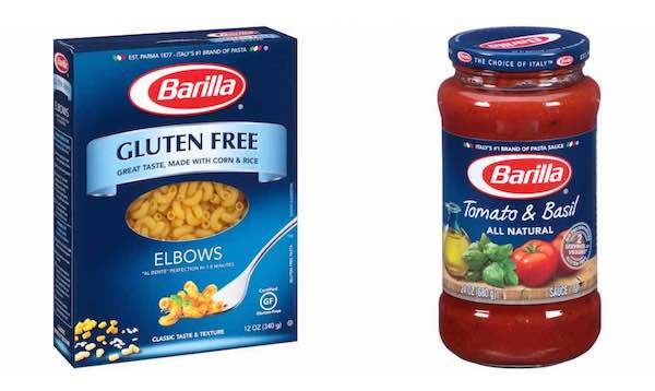 Barilla Products Printable Coupon