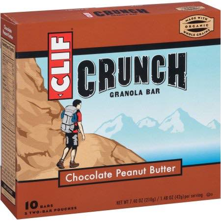 photo about Cliff Bar Printable Coupons called Clif Bar Crunch 10ct Specifically $0.50/Box At Emphasis! - Printable