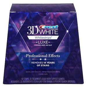 Crest 3D White Professional Effects Whitestrips Printable Coupon