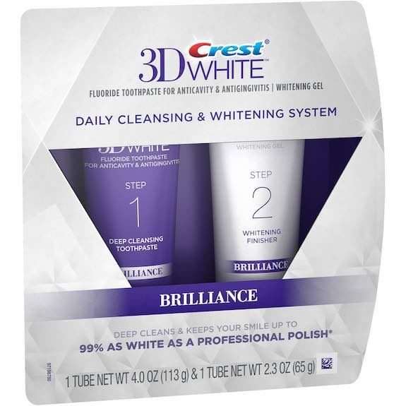 Crest 3D White Whitening System Printable Coupon