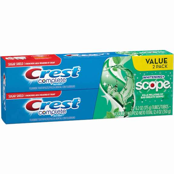 Crest Toothpaste Twin Pack Printable Coupon