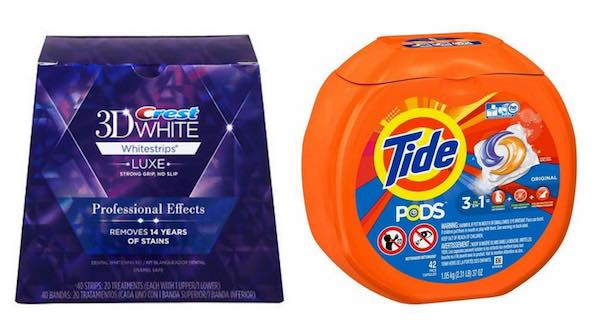 Crest Whitestrips & Tide Products Printable Coupon