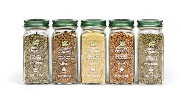 Simply Organic Glass Bottles Spices Printable Coupon