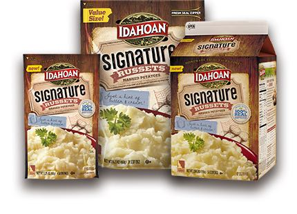 Idahoan Signature Russets Mashed Potatoes Printable Coupon