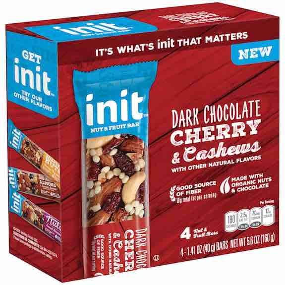 Init Fruit & Nut Bar 4pk Printable Coupon