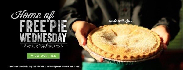 picture about O Charley's Printable Coupons identified as Pie Printable Coupon - Printable Coupon codes and Offers