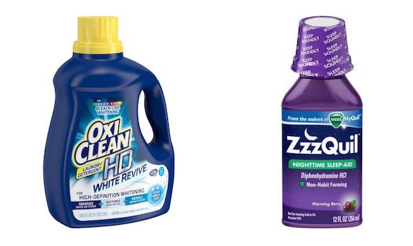 Oxi Clean & ZzzQuil Printable Coupon
