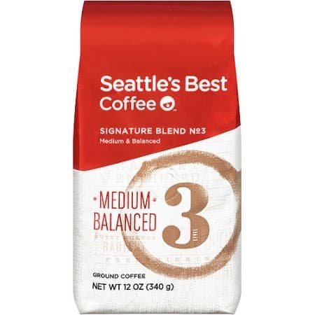 Seattle's Best Coffee Level 3 Ground 12oz Bag Printable Coupon