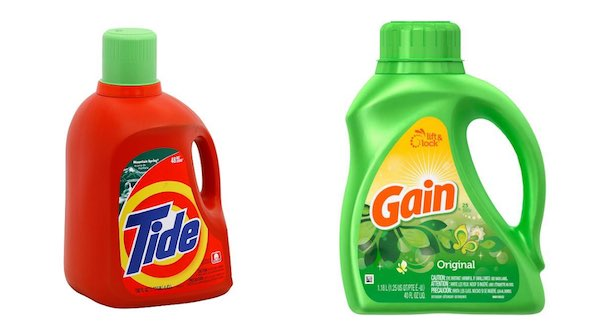 Tide and Gain Laundry Detergents Printable Coupon
