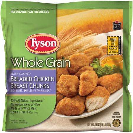 Tyson Chicken Nuggets Whole Grain Printable Coupon