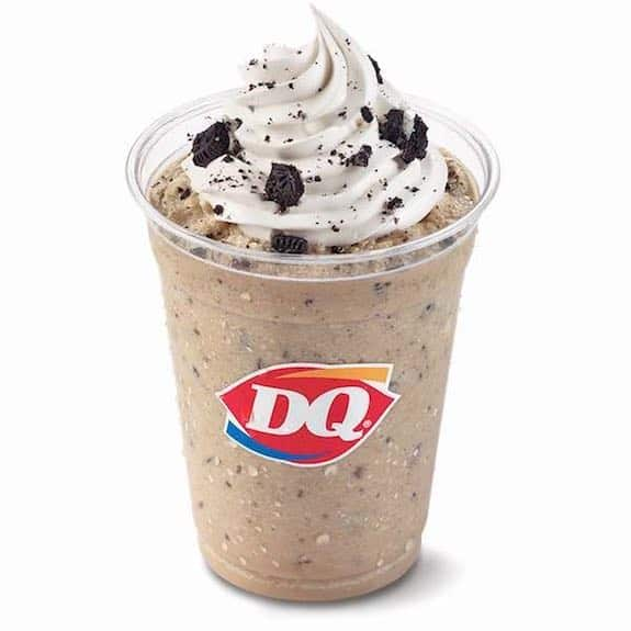 Dairy Queen Oreo Frappe Printable Coupon