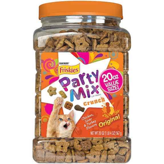 Friskies Party Mix Cat Treats 20oz Printable Coupon