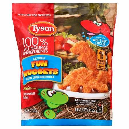 Tyson Nuggets Product Printable Coupon