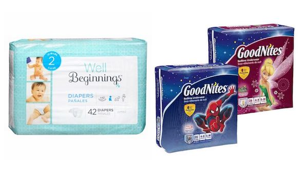 Well Beginnings & Goodnites Products Printable Coupon