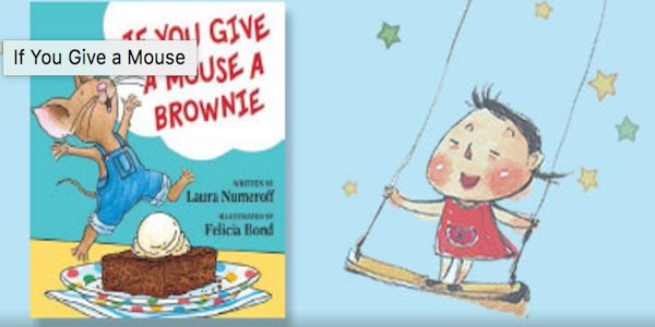 barnes noble give a mouse a brownie printable