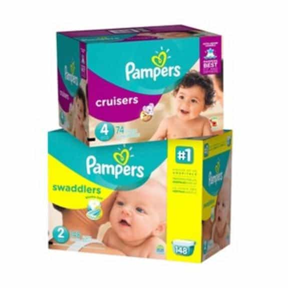 Coupons for diapers