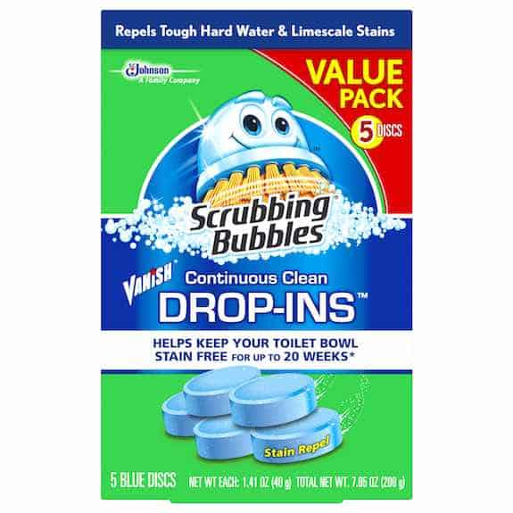 you make scrubbing bubbles bathroom cleaner coupon attachment options