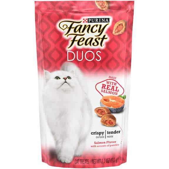 Purina Fancy Feast Duos Salmon Flavor Cat Treats 2.1oz Printable Coupon